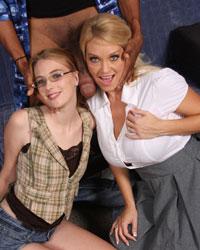 Charlee Follow & Samantha Faye